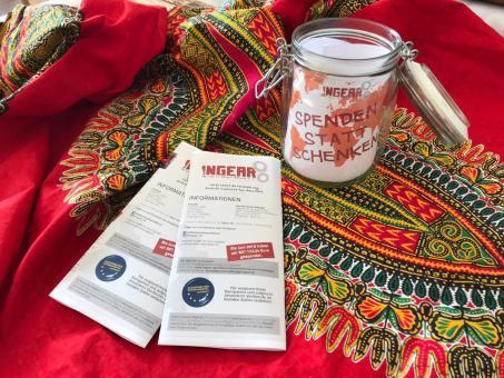 INGEAR Sofort-Kit Spenden statt Schenken